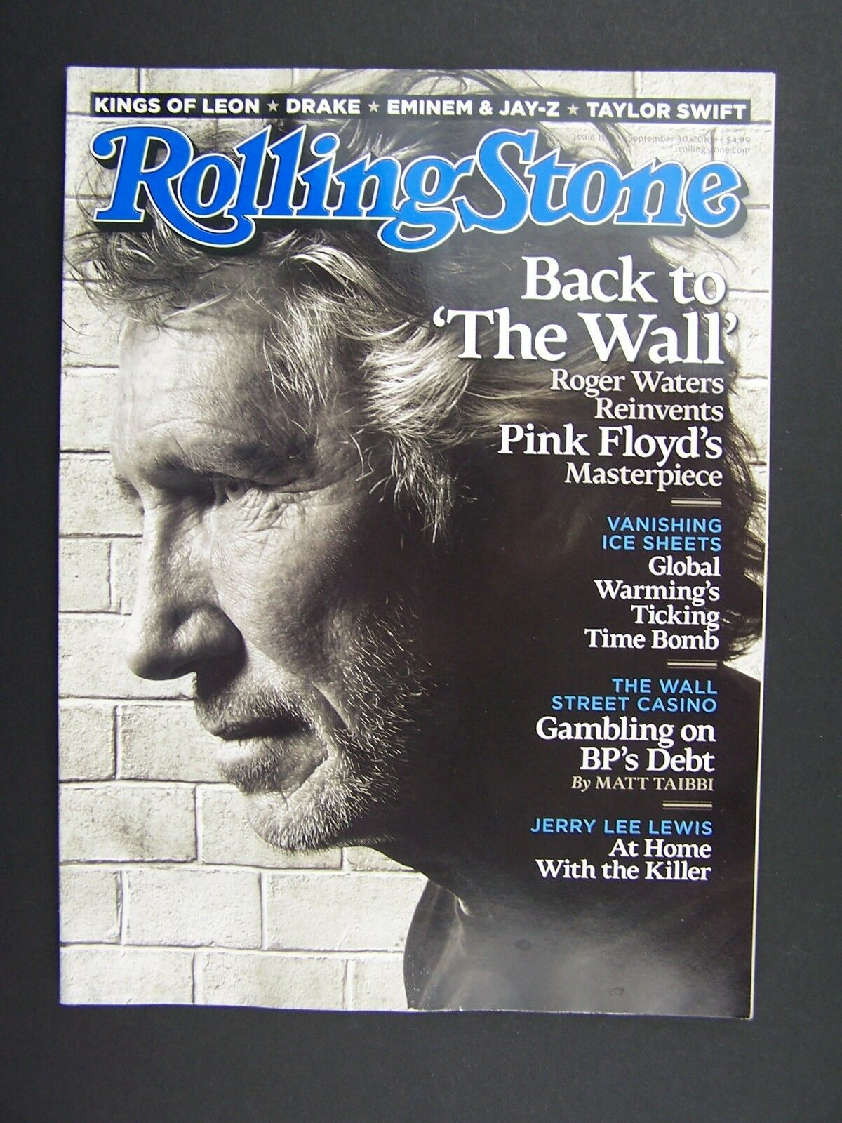 Rolling Stone Magazine Issue 1114 September 30 2010 Pin