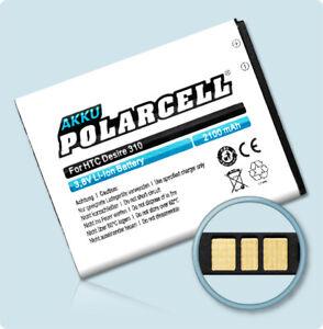 PolarCell Akku für Jolla Phone JP-1301 22B50 Sailfish 1 2100mAh Batterie Accu