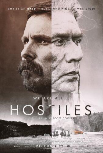 Hostiles 2017  Movie Poster A0-A1-A2-A3-A4-A5-A6-MAXI 694