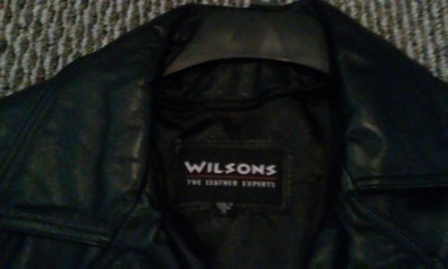2 Mens  Wilson dress  Leather Jackets Nice condit