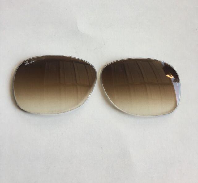 fdfea8131ad5e Ray Ban New Wayfarer RB 2132 710 51 Light Havana Sunglasses 58mm Lenses  Only!