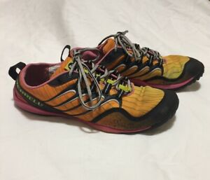 official images first look finest fabrics Details about Merrell Barefoot Lithe Glove Cosmo Pink Running Workout  Womens Size 6.5