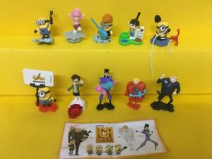Komplettsatz-Minions-aus-Diorama-mit-1-BPZ-Deutsch-bitte-lesen
