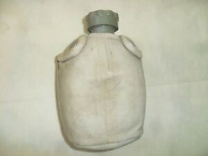 Idf-Plastic-Water-Canteen-and-Canvas-Cover-Made-in-Israel-Zahal-Israeli-Army