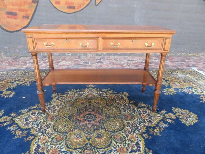 Quality Rosewood side server or console table with cutlery drawer
