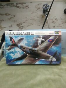 Vintage-2971-Revell-1-32-R-A-F-MUSTANG-III-MODEL-KIT-SEALED