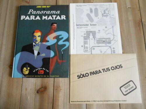 juego rol Panorama para matar JAMES BOND 007 Joc Internacional Ian Fleming