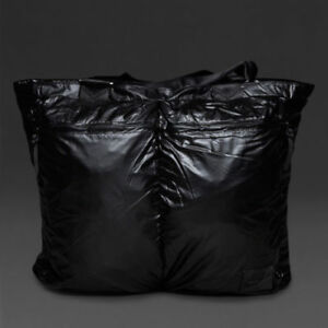 Nike-Metallic-London-Shopper-Tasche-39-L-bz9810-001-Damen-Glaenzend-schwarz-Neu