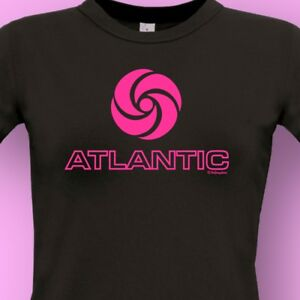 ATLANTIC-RECORDS-NEW-Northern-Soul-MUSIC-Ladies-T-SHIRT-KTF