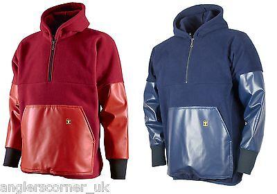 /Ärmeln und Tasche aus PVC Kodiak Guy Cotten Fleecepullover