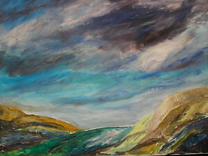 original-contemporary-landscape-painting-on-canvas-plus-FREE-POSTAGE