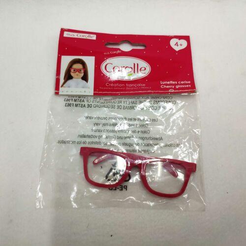 "1 Pair of  Corolle Cherry Glasses Red Frame for 18/"" American Girl Dolls"