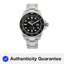 Rolex GMT-Master II Stainless Steel Black Dial Automatic Mens Watch 116710N