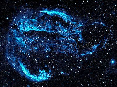 SPACE CYGNUS LOOP NEBULA STAR GAS ASTRONOMY LARGE POSTER ART PRINT BB3235A