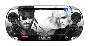 PSV-Metal-Gear-Solid-HG-bonus-Protect-Skin-Film-PS-Vita-PCH-1000-KONAMI-JAPAN-FS