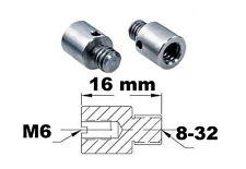 Adaptateur de filetage 8-32 M6 Thread adapter adaptor External metric imperial