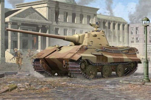 Vuelta de 10 dias 01536 01536 01536 1 35 Escala Alemán Panzer tanque blindado E-50 modelo del vehículo Trumpeter  ahorra hasta un 80%