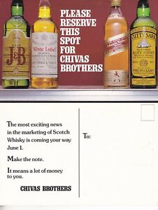 SAVE-A-SPOT-FOR-CHIVAS-BROTHERS-WHISKY-ADVERTISING-UNUSED-COLOUR-POSTCARD-b