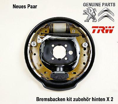 Bremsbacken//Bremsen Kit Zubeh/ör hinten