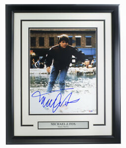 Michael-J-Fox-Signed-Framed-Back-To-The-Future-11x14-Photo-PSA-DNA-U45987