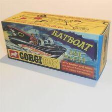 Corgi Toys  107 Batboat empty Reproduction Box for Batman & Robin