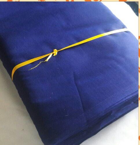 Punjabi Sikh paghri dastar Turbante malmal F 74 BELLE tessuto di cotone molto sottile