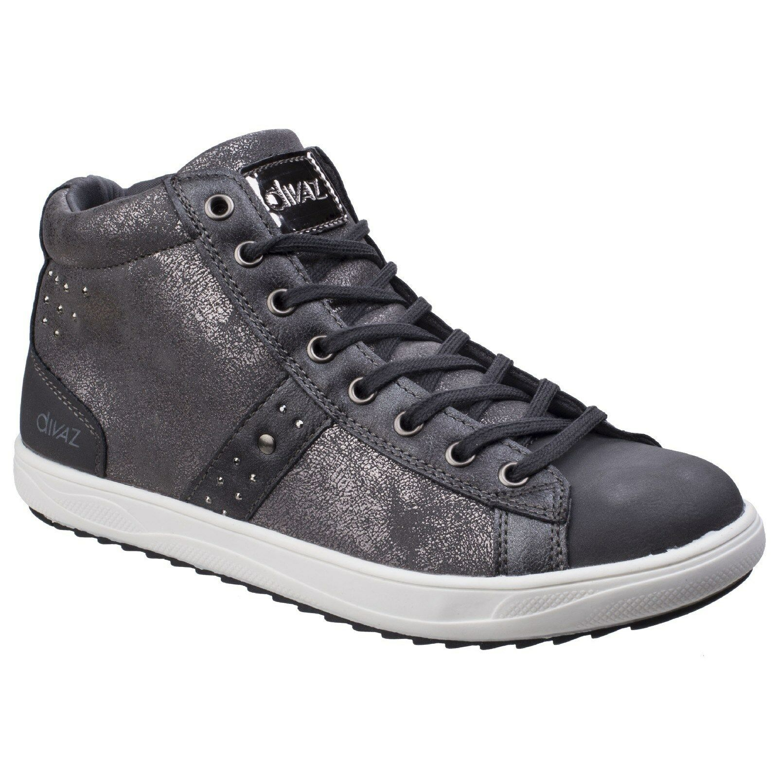 Divaz STEFFY Sneakers Stiefeletten metallisch Sneakers STEFFY Damen Modische Turnschuhe 236257