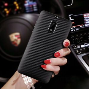 sneakers for cheap 41d3f a46f4 Details about Silicone TPU Rubber Carbon fiber Case For Nokia 7.1 6.1 7  PLUS 5 6 8 2 2.1 3.1