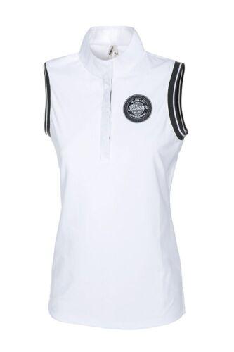 Pikeur Spring NEW Summer Gini Sleeveless Show Shirt White sizes 8-16