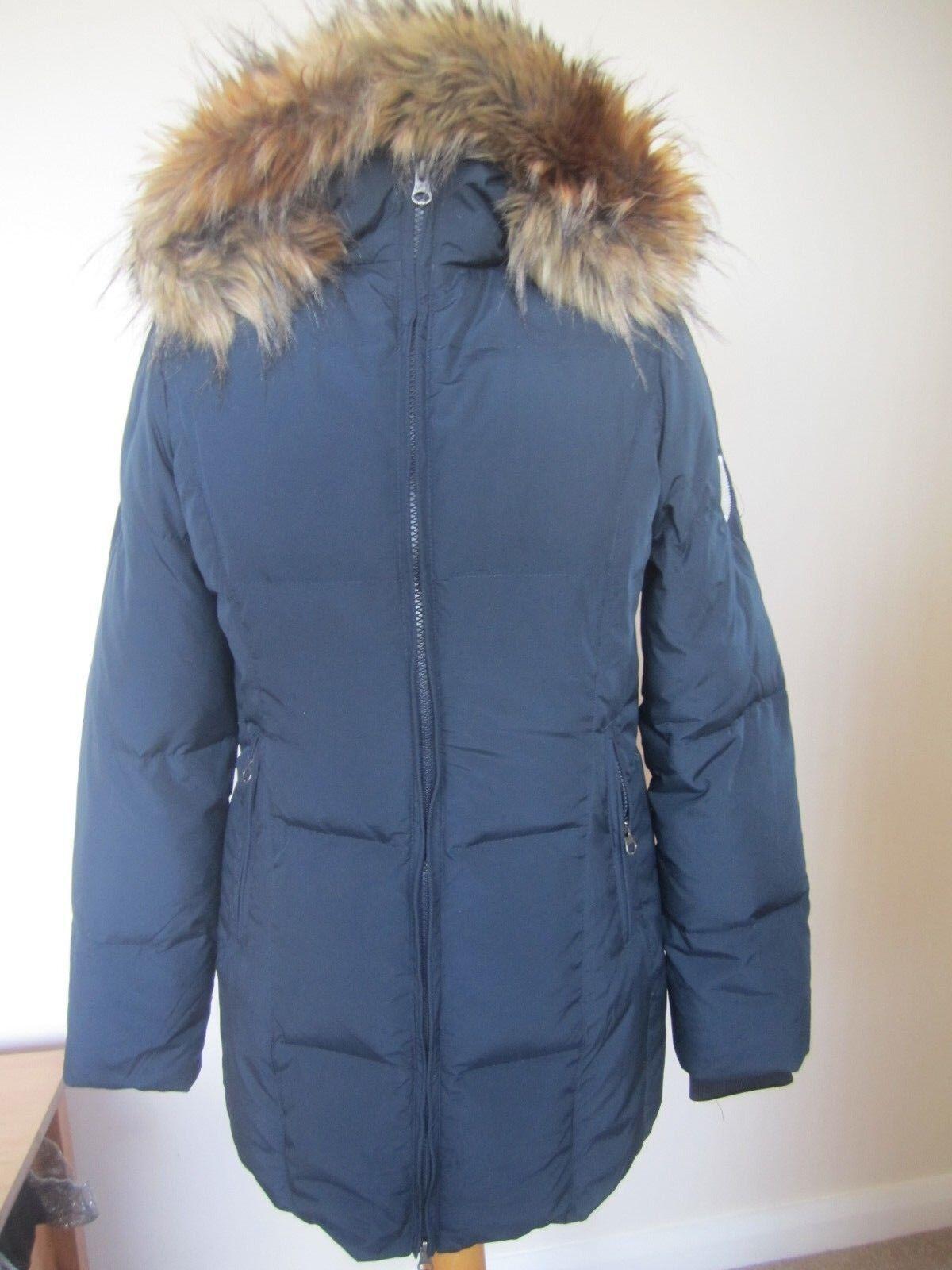 Kingsland Bucaneve Donna Long Down Jacket 153-OW-207 - Blu scuro-XS ()
