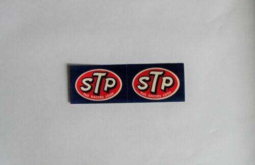 1972 STP VINTAGE 2 THE RACERS EDGE RACING STICKERS DECALS NASCAR NHRA PETTY NOS