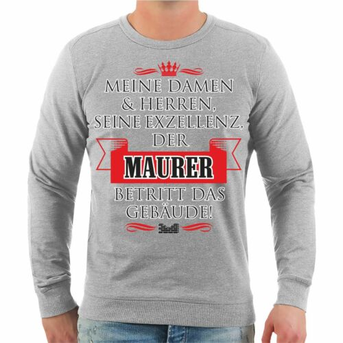 Pullover Eccellenza Funny Gift Sayings Occupation Mason Construction The Sua Sweatshirt OUqrvBwO