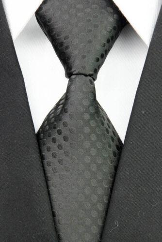 Black Blue Purple Grey Brown Wedding Stripe Dots Necktie 100/% Silk Men/'s Tie
