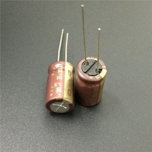 10pcs 180uF 35V180UF Japon ELNA RJJ Basse Impédance Audio Capacitor 10x16mm