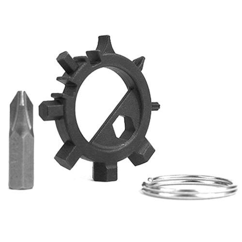 Mini Multifunktionswerkzeug 12 Funktionen Gear Edelstahl Reparatur Werkzeuge Gut