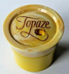 Vintage-Avon-Empty-TOPAZE-Cream-Sachet-BOTTLE-container-with-Box