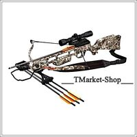 Crossbow Archer Arrows Hunters Shoot Sports Outdoor Pistol 175 Lb Camouflage
