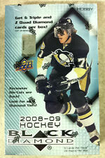 2008-09 2009 Upper Deck Black Diamond Hockey Factory Sealed HOBBY Box 24pk/5cd