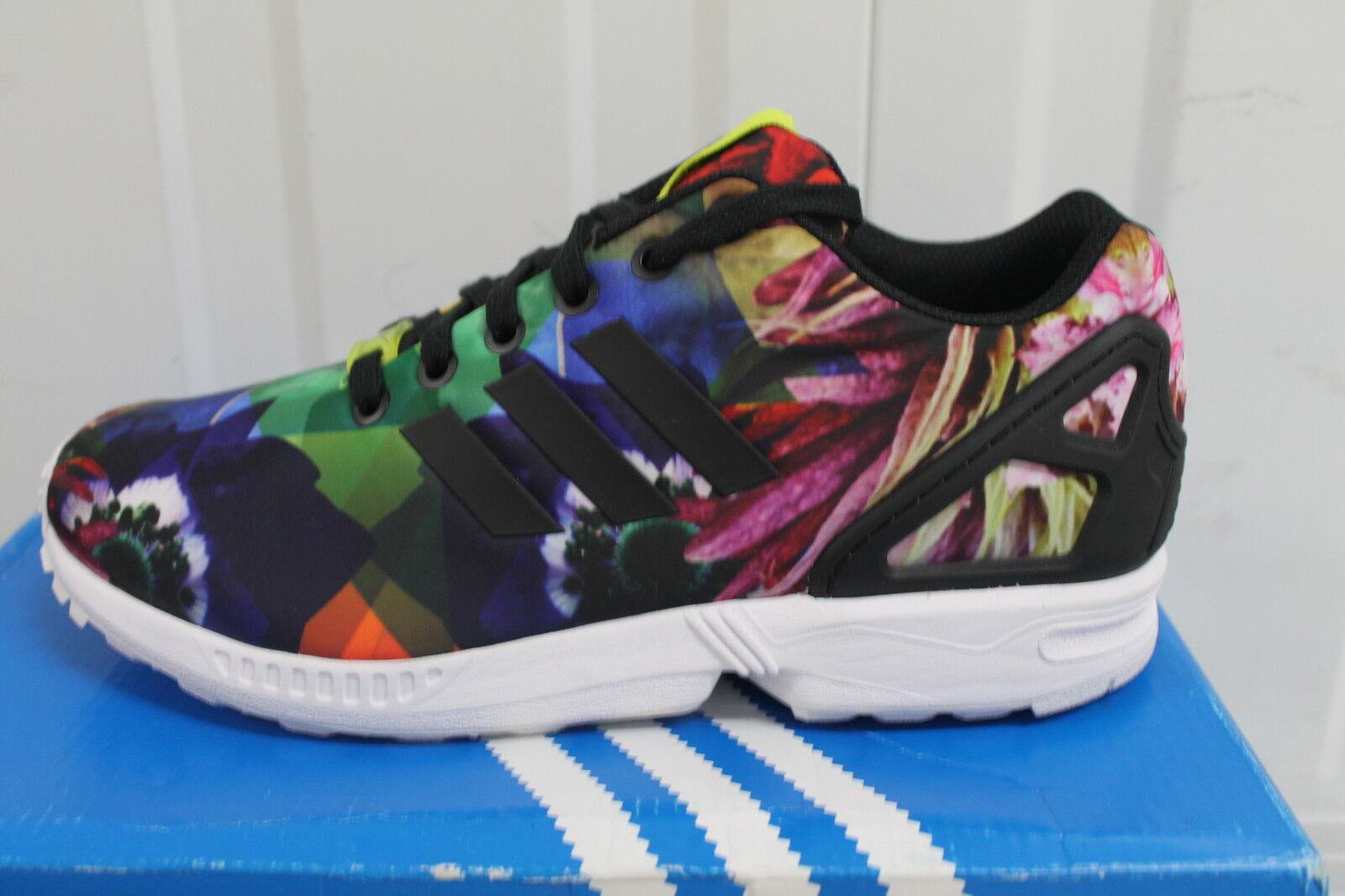 JUNIOR,S ZX ADIDAS ZX JUNIOR,S FLUX FLORAL LIMITED EDTIONS BNIB c86b55