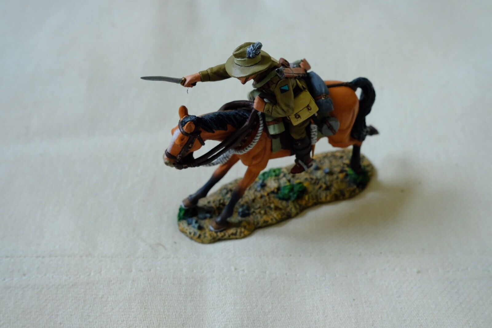 King And And Country Australian Light Horse AL04 Charging Bayonet Soldier