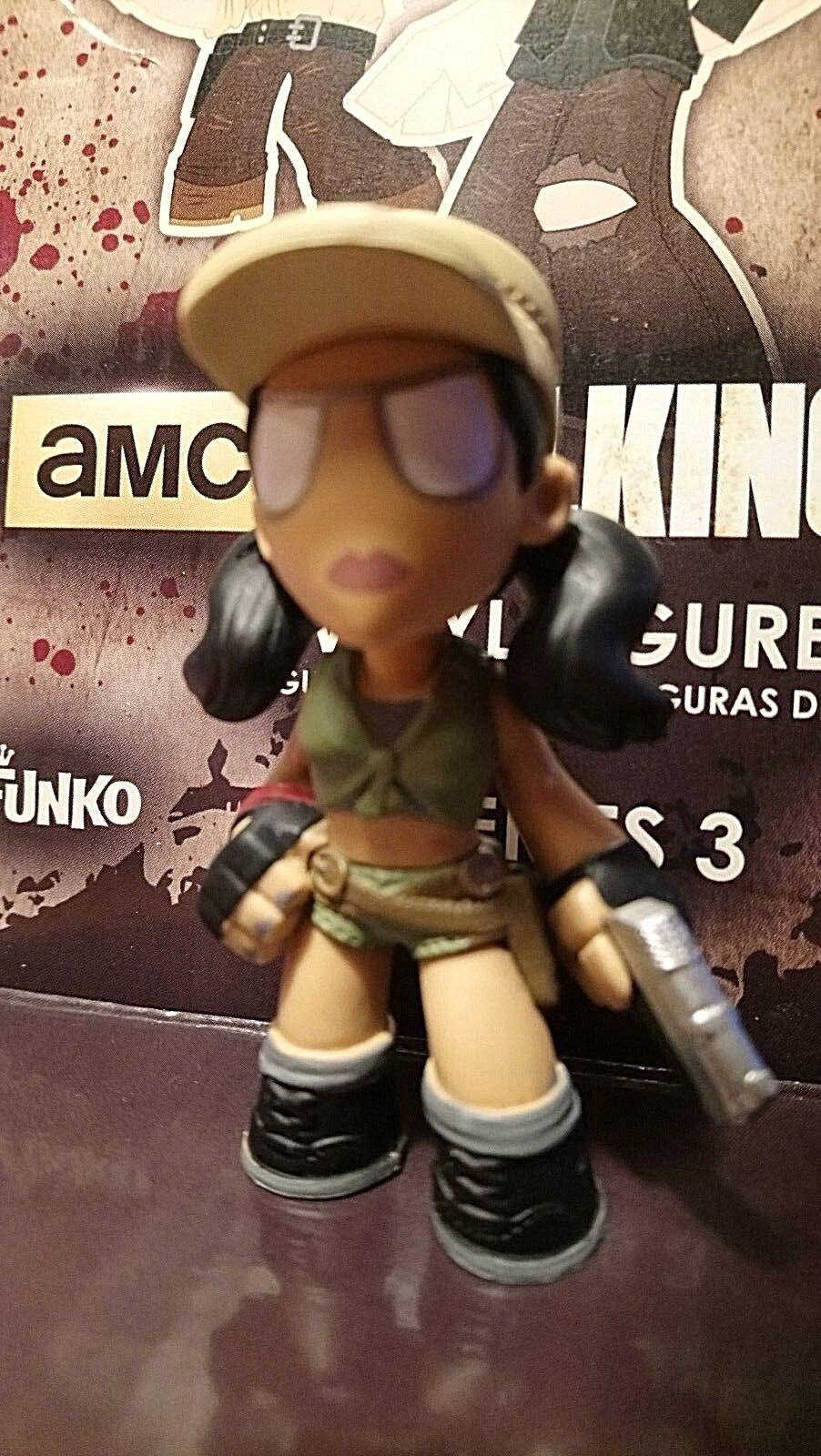 aquí tiene la última The Walking Walking Walking Dead FUNKO Misterio Mini serie 3 ROSITA HOT TOPIC Raro  seguro de calidad
