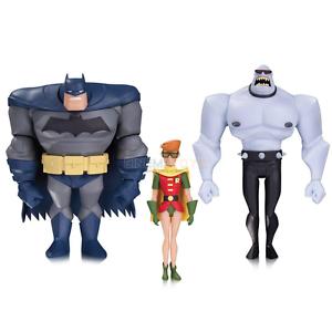 Dark Knight Adventures Animated Batman Robin & Mutant Leader Acción Figuras Set
