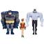 Dark Knight Adventures Animated Batman Robin /& Mutant Leader Action Figures Set