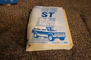 GM-GMC-Chevrolet-ST-truck-blazer-S10-illustrated-parts-catalog-GM-1991-1992-OEM