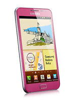 5.3 Unlocked Samsung Galaxy Note N7000 I9220 Gsm 3g Cell Phone 16gb 8mp Pink
