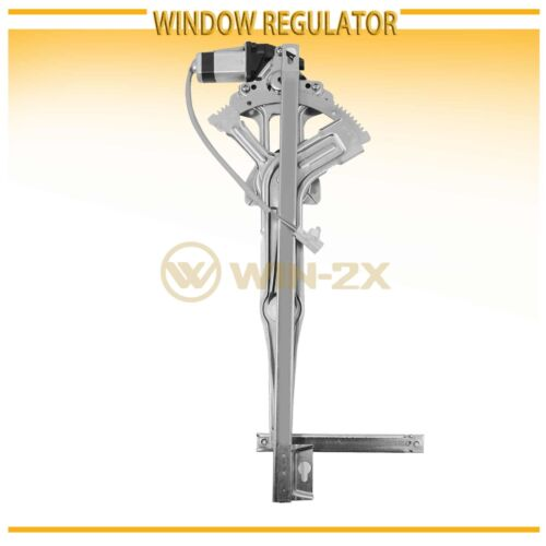 1pc New Front Right Power Window Regulator w// Motor Fit 90-93 Accord Sedan//Wagon
