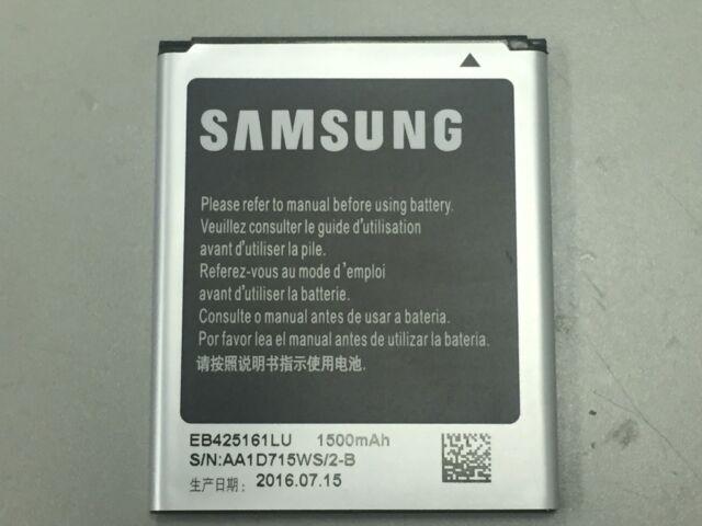 New OEM Samsung EB425161LU 3.8V Battery for Galaxy S3 Mini Galaxy Ace 2 S Duos