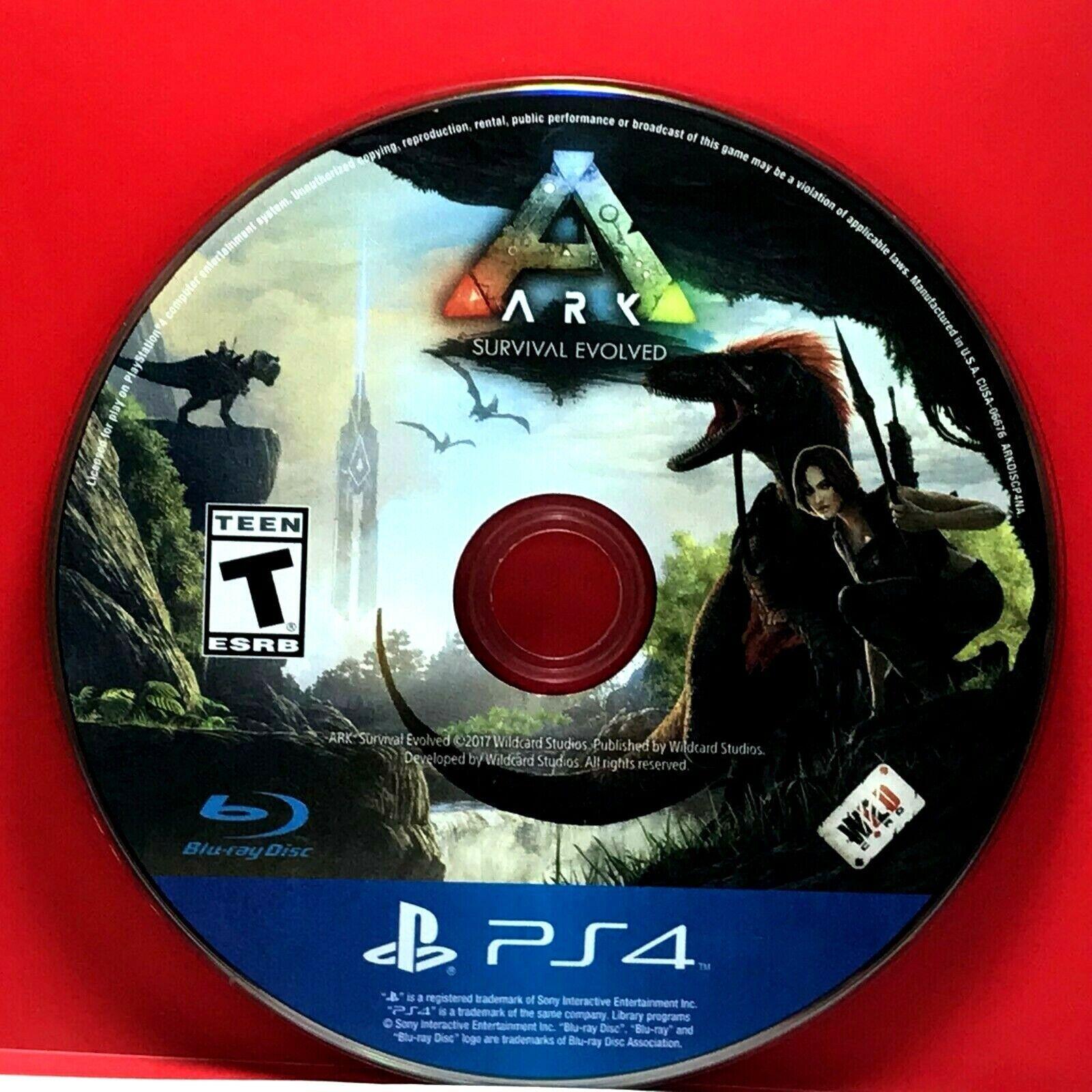 Ark: Survival Evolved (Sony PlayStation 4, 2017)