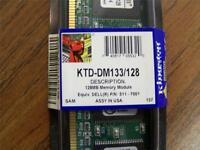256mb (2x128) Kingston Ktd-dm133/128 128mb Modules, Dell 311-7001 F36