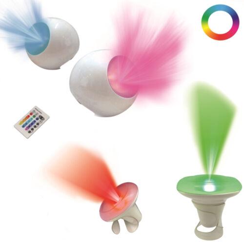 16 couleurs changeantes bureau table LED Lumière Lampe Humeur Décoration Cadeau Avec Télécommande